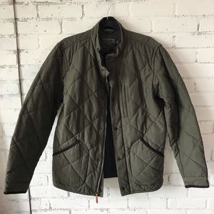 J.Crew Sussex Quilted Jacket w/ PrimaLoft Med Tall